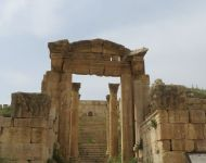 Jerash LookingThrough
